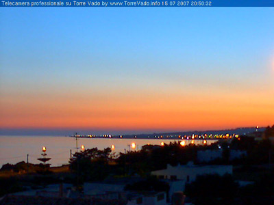 Prima WebCam su Torre Vado