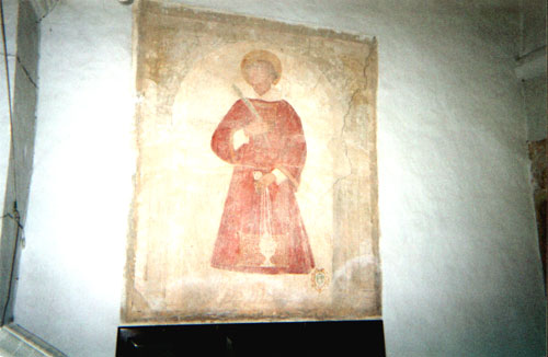 Affresco san freancesco