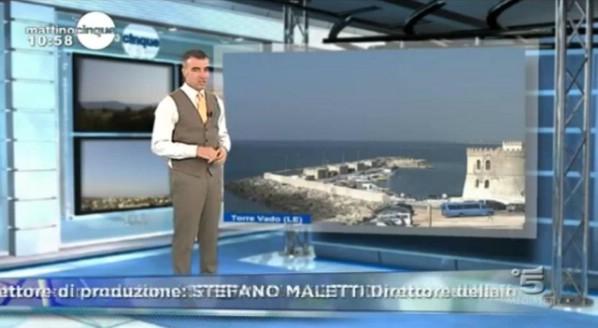webcam la nostra Torre Vado! Era l'unica delle località mostrate dove splendeva il sole!!!