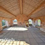 tetto in canne chiesa leuca piccola salento