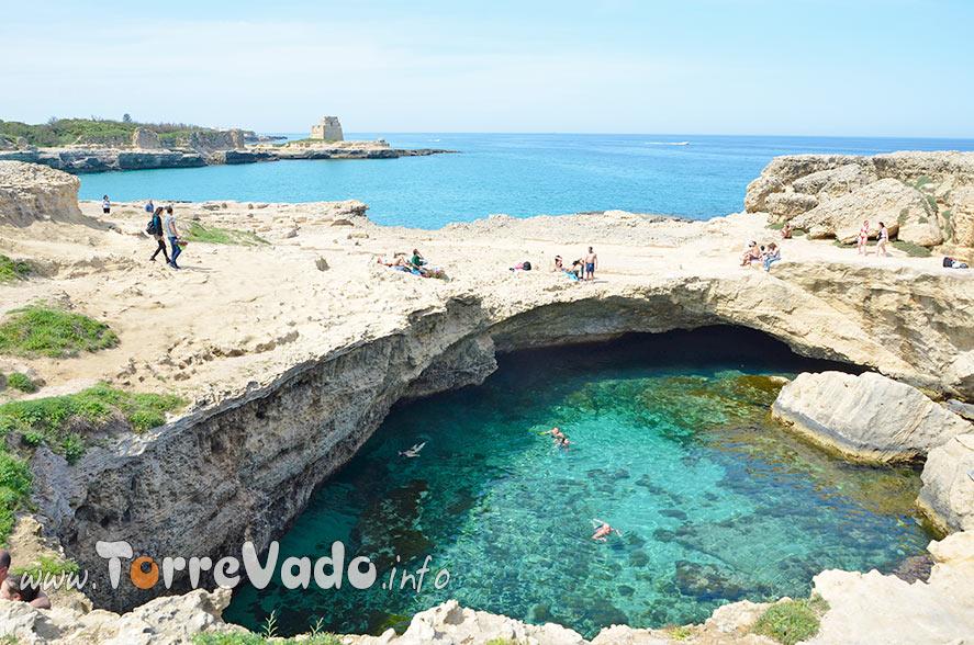 Piscina Naturale Grotta della Poesia Roca