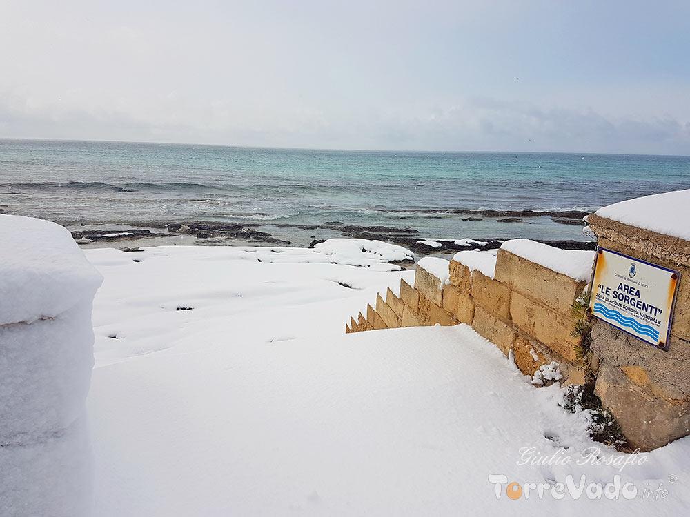 nevicata le sorgenti torrevado