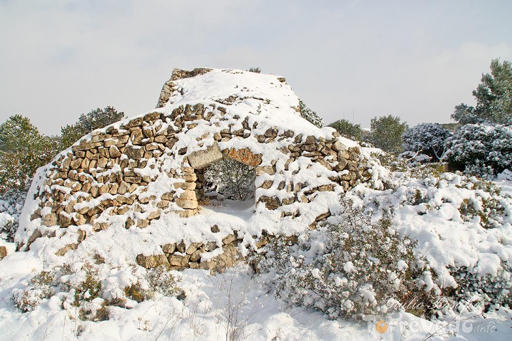 paiara nevicata salento