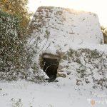 trullo nevicata salento