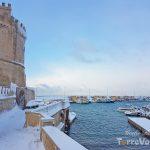vista porto turistico torre vado neve