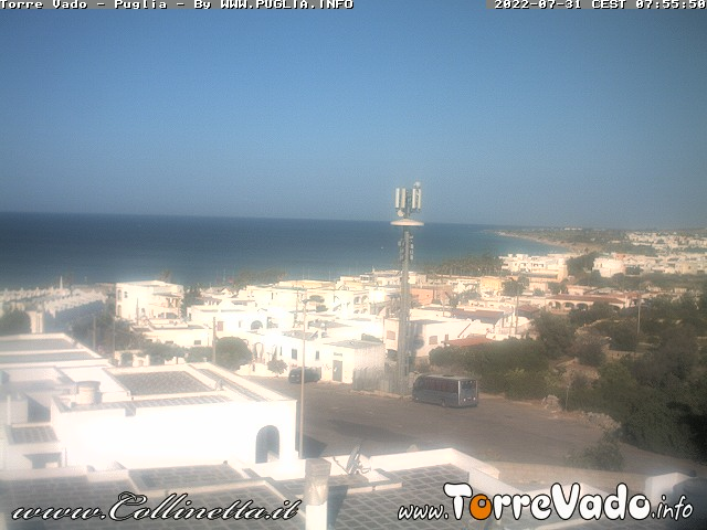 WebCam panoramica di Torre Vado