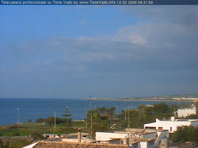 WEBCAM 3 - Panoramica sull'abitato e sul mare - Torre Vado